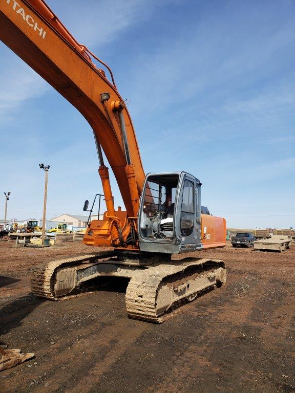 used Hitachi excavators for sale in Sask