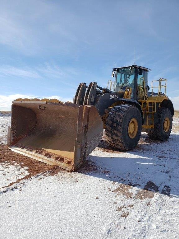 Used 844J wheel loaders for sale in Montana