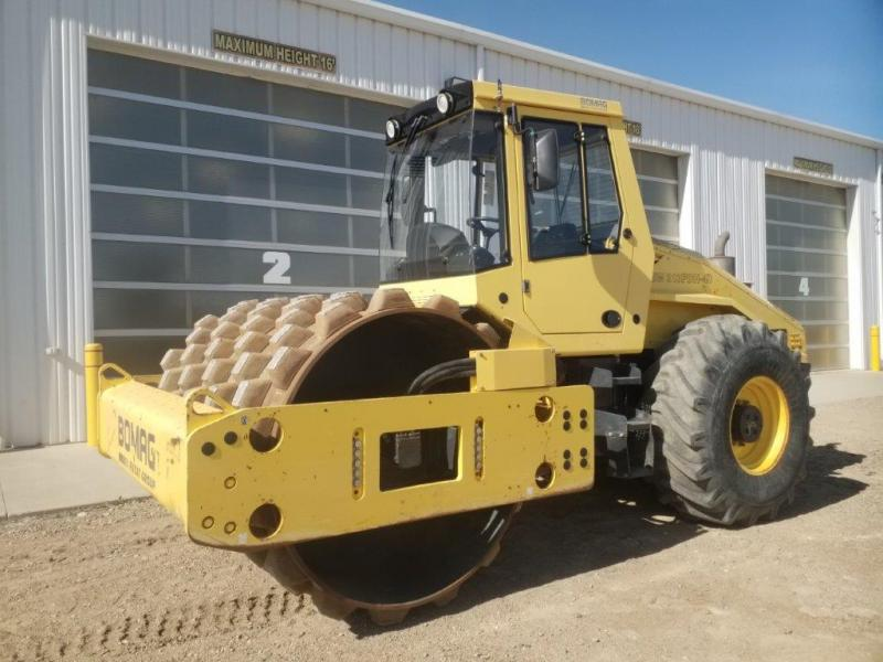 "Used Bomag BW213 84"" packers for sale in BC"