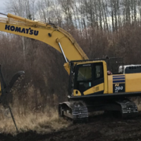 Used Komatsu PC360 hoes for sale in Edmonton, Calgary