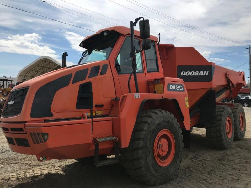 Used Doosan dump trucks for sale in British Columbia