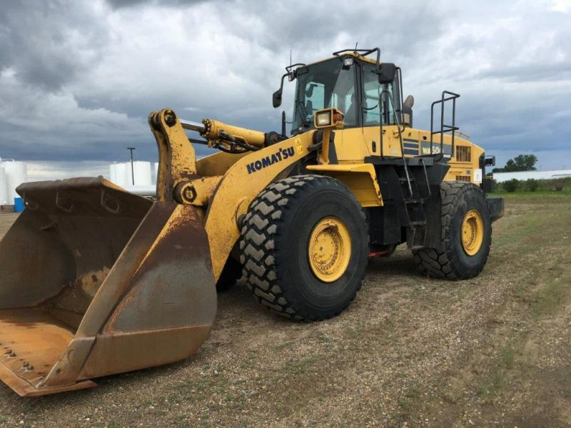 Used Komatsu wheel loaders for sale in Minot, Williston, Bismarck