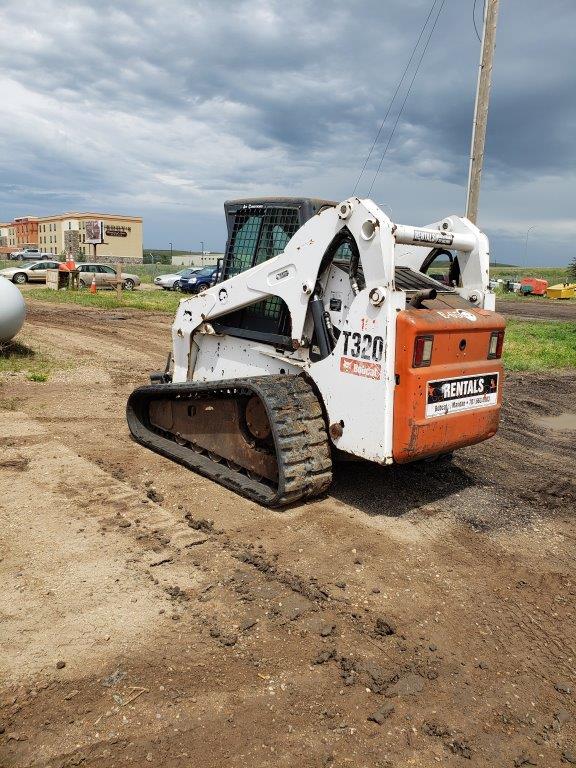 used Bobcat track loaders for sale in North Dakota