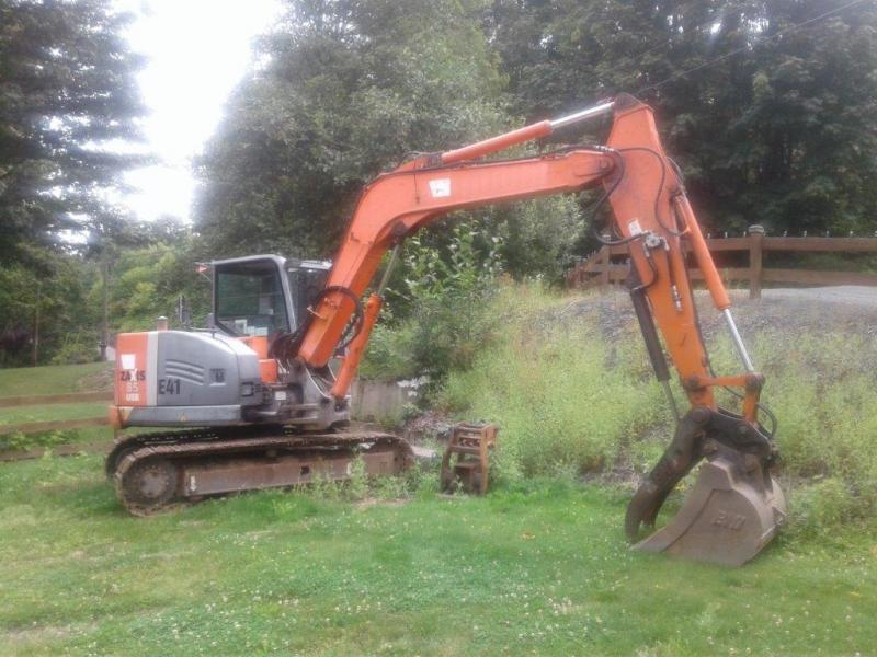 Used Hitachi ZX85 excavators for sale in BC