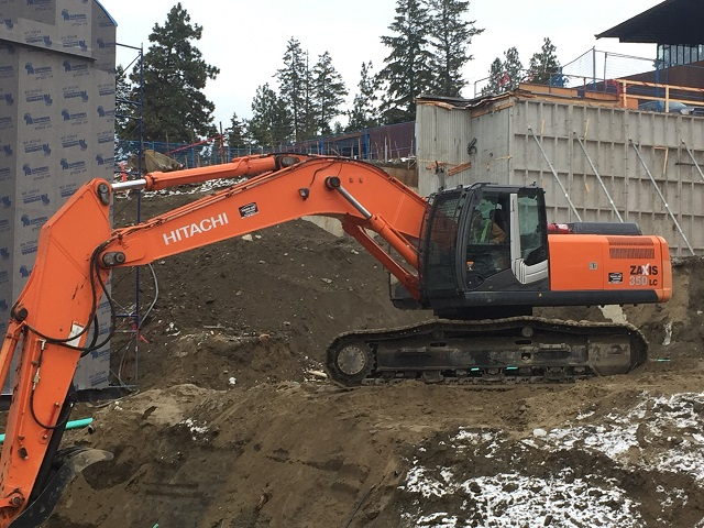 Used Hitachi ZX350 LC-3 excavators for sale in Kelowna, Abbotsford