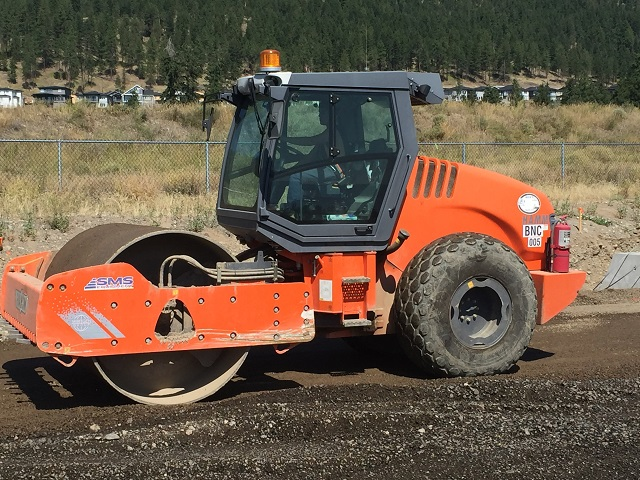 Used Hamm smooth drum rollers for sale in BC