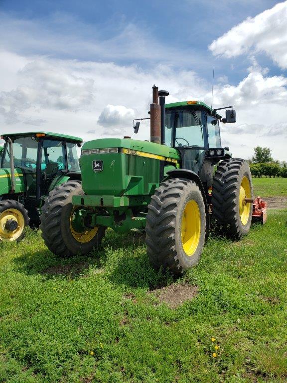 Used John Deere tractors for sale in North Dakota