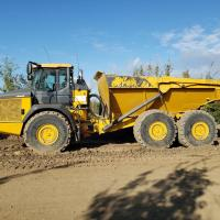 Used Deere 410 rock trucks for sale in Edmonton, Calgary