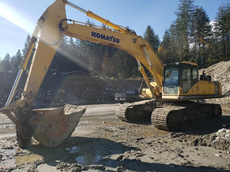 used Komatsu excavators for sale in British Columbia