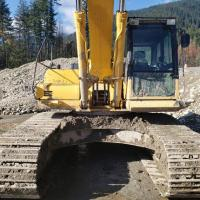 used Komatsu 30 ton hoe for sale in Abbotsford, BC
