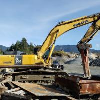 Used Komatsu PC300 excavators for sale in Surrey, BC