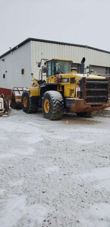 Used Komatsu WA500 wheel loaders for sale in AB