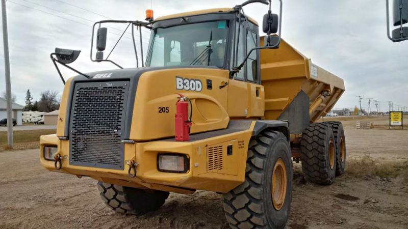 Used Bell B30D rock trucks for sale in Saskatchewan